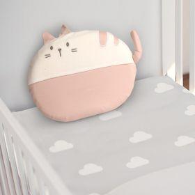 Baby Moo-Cat Pink Memory Pillow
