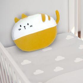 Baby Moo-Cat Yellow Memory Pillow