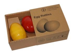 Fairkraft Creations Egg Rattles