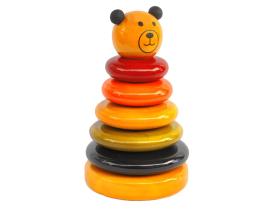 Fairkraft Creations Cubby ? Wooden Stacker Toy