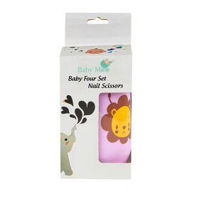 Baby Moo-Lion Lilac Nail Clipper Set