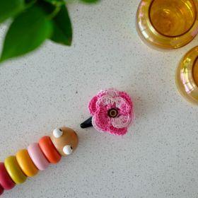 Neemboo Crochet Clip Single - Pinkalicious