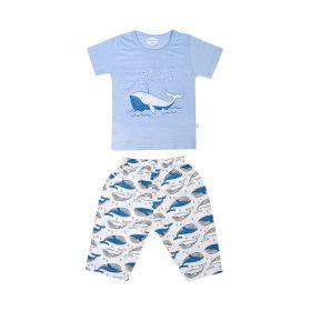 Baby Moo-Fun In The Ocean Blue Night Suit-RM02916-SBLU1