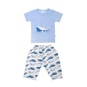 Baby Moo-Fun In The Ocean Blue Night Suit-RM02916-SBLU2