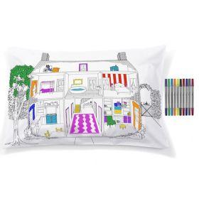 Pink Parrot Kids-home decorator pillowcase