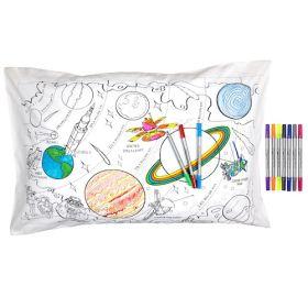 Pink Parrot Kids-space explorer pillowcase