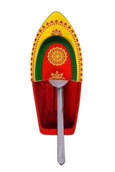 Desi Toys-Premium Steam Toy Tin Boat, Putt Putt Nav
