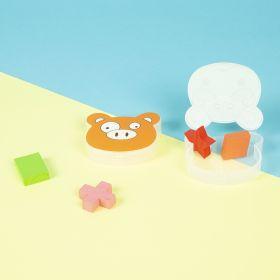 Baby Moo-Animal Face Multicolour 2 Pk Mini Storage Box
