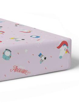 Rabitat Fitted Crib Sheet Totally Adorable V1