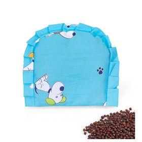 Baby Moo-Puppy Love Blue Rai Pillow