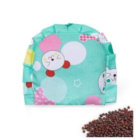 Baby Moo-Kitty Green Rai Pillow