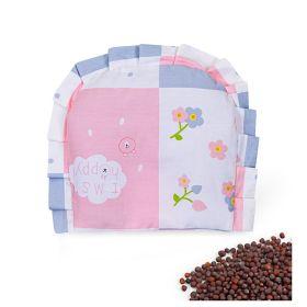 Baby Moo-Floral Pink Rai Pillow