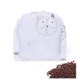 Baby Moo-BFF Bear White Rai Pillow