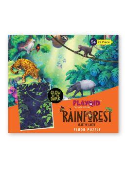 playqid-rainforest heart of earth - glow in the dark