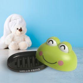 Baby Moo-Frog Green Soap Box