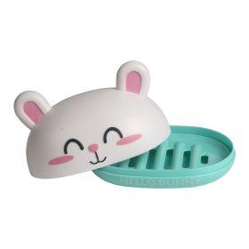 Baby Moo-Bunny Turquoise Soap Box