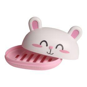 Baby Moo-Bunny Light Pink Soap Box