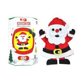 Toiing Stitchtoi Santa Claus: DIY Felt Stitching Kit