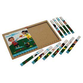 Skola Toys-Sequencing Puzzle Holi