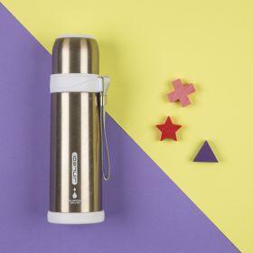 Baby Moo-Metallic Gold 500Ml Flask
