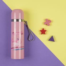 Baby Moo-Whimsical Unicorn Pink 500Ml Flask