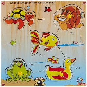 Skillofun-Junior Identification Tray  Water Animals I