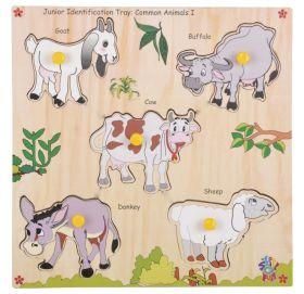 Skillofun-Junior Identification Tray   Common Animals I