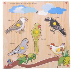 Skillofun-Junior Identification Tray  Birds I