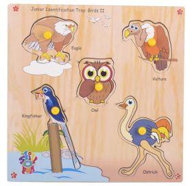 Skillofun-Junior Identification Tray  Birds II
