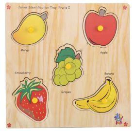 Skillofun-Junior Identification Tray  Fruits I