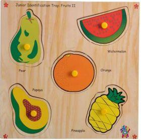 Skillofun-Junior Identification Tray  Fruits II