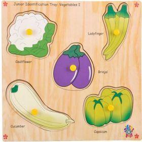 Skillofun-Junior Identification Tray  Vegetables I