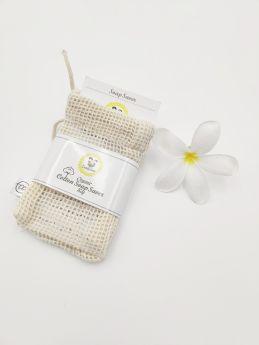 Cuddle Care-Organic Cotton Soap Saver Bag -Natural Color