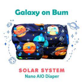 Kindermum-Solar System –Nano AIO with 2 organic cotton inserts