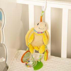 Baby Moo-Tortoise Yellow Hanging Toy With Teether