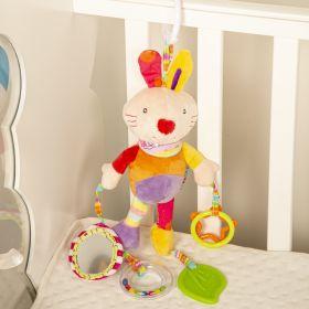 Baby Moo-Animal Orange Hanging Toy With Teether