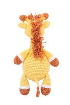 Happy Threads-Amigurumi Soft Toy- Handmade Crochet- Kinder Giraffe
