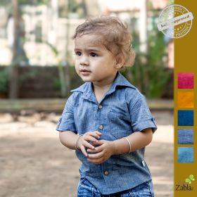 Zoli-Teeny Tiny Grey ZZM Shirt