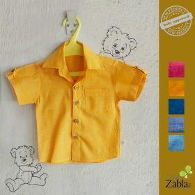 Zoli-Teeny Tiny Yellow Saffron ZZM Shirt