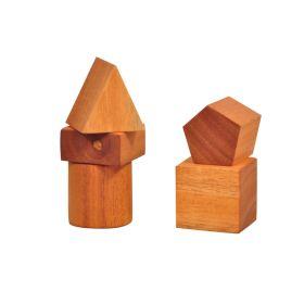 Thasvi Baby's First Jumbo Wooden Blocks