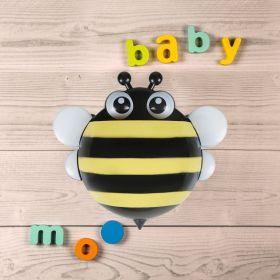 Baby Moo-Honey Bee Yellow Toothbrush Holder