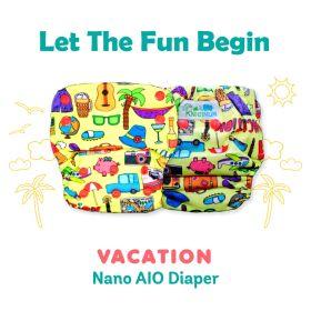 Kindermum-Vacation – Nano AIO with 2 organic cotton inserts