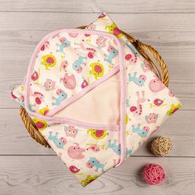 Baby Moo-Animal Print Pink Wrapper