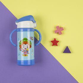 Baby Moo-Ice Cream Blue Water Bottle
