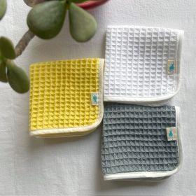 whitewater kids organic handwoven waffle washcloths