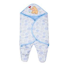 Baby Moo-Elephant Blue Wrapper