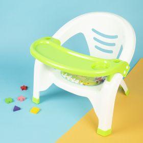 Baby Moo-Feeding Green Chair