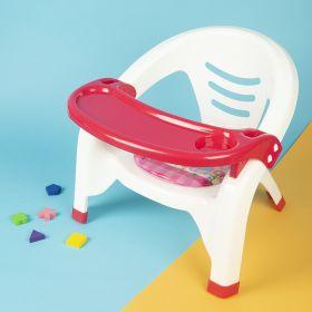 Baby Moo-Feeding Red Chair