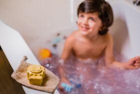 Cuddle Care-Happy Earth Vegan Baby Bath Soap-Yellow (Lemon)